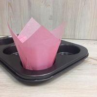 Бумажный тюльпан - светло-розовый, 12шт