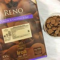 "IRCA шоколад молочный 34% ""Reno Latte"" 100гр"