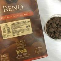 "IRCA шоколад темный 52% ""Reno Fondente Ghana President"" 100гр"