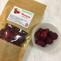 Вишня сублимационной сушки, целые ягоды 20гр