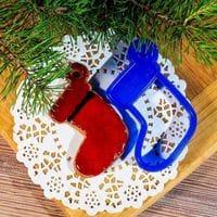 """ЛФ Форма для печенья """"Рождественский носок"""""""