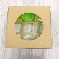 Коробка для кексов ECO MUF 9 ячеек