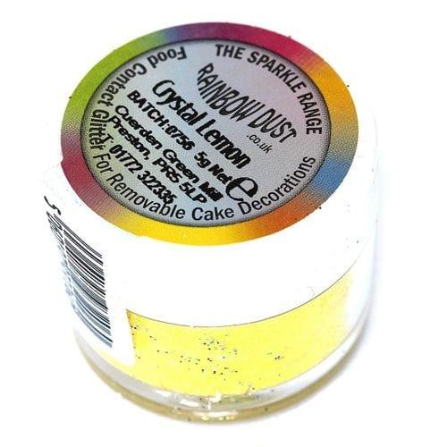 Блестки Rainbow Crystal Lemon