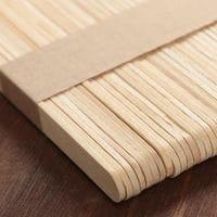Палочки деревянные для мороженого 10 шт, 11,5×1,1 см