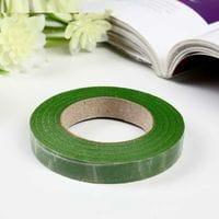 Флористическая бумажная тейп-лента Зеленая