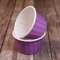 Мини маффин фиолетовый 12шт