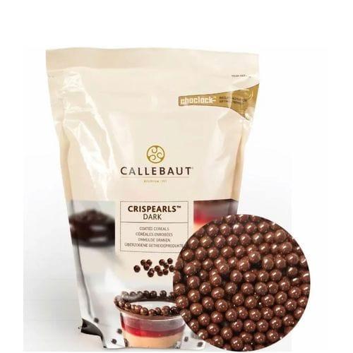 """Callebaut Crispearls хрустящие шарики """"Темные"""""""
