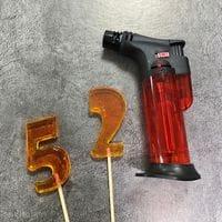 Турбо-зажигалка горелка газовая средняя
