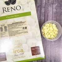 "IRCA шоколад белый 31,5% ""Reno White Sulawesi Imperial"" 100гр"