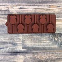 """Форма для леденцов и шоколада, 6 ячеек,  """"Влюбленность"""""""