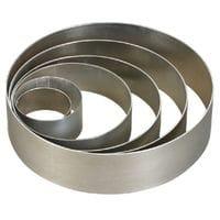 Кольцо металлическое d18см h5см