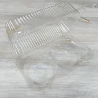 Пластиковая упаковка для кексов 2 ячейки