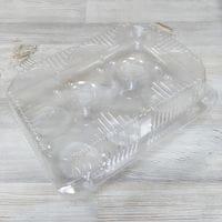 Пластиковая упаковка для кексов 6 ячеек