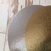 Подложка золото/серебро 0,8мм - 22см