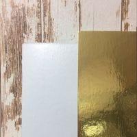 Подложка золото/жемчуг 3,2мм - 26*26см