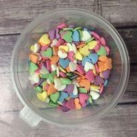 """Сахарная посыпка """"Сердце"""" цветные"""